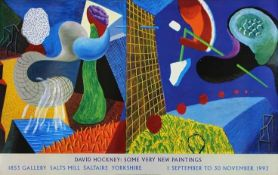 """David Hockney R.A. (British 1937-) """"The Other Side: Some Very New Paintings, Salts Mill, 1993"""""""