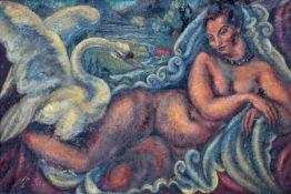 "Vera Cuningham (British 1897-1955) ""Leda and The Swan"""