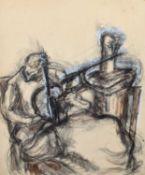 """Vera Cuningham (British 1897-1955) """"Musicians"""""""