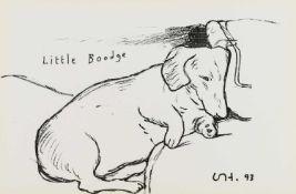 "David Hockney R.A. (British 1937-) ""Little Boodge"""