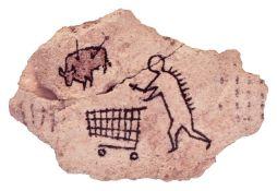 "Banksy (British 1974-) ""Peckham Rock"""