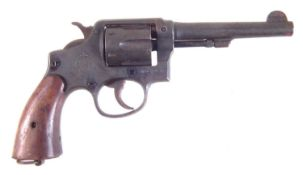 Deactivated Smith and Wesson .38 Revolver,