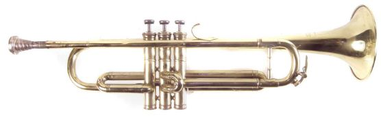 Rene Guenot Trumpet, fitted with Boosey and Hawkes mouthpiece.