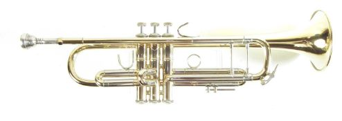 Bach Stradivarius 37 trumpet, with case