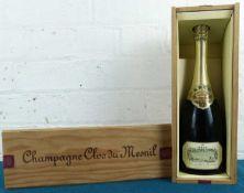 1 bottle Champagne Krug 'Clos du Mesnil' Vintage 1985