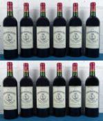 12 Bottles (in OC) Chateau Moulin de Tricot, Haut Medoc 2010