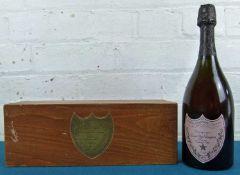 1 bottle Champagne 'Dom Perignon' Rose 1985