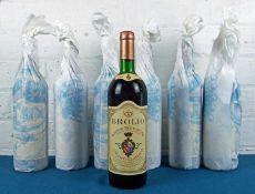 7 bottles Chianti Classico Riserva Brolio Barone di Ricasoli 'Riserva del Barone' 1982