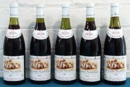5 Bottles Mixed Lot Beaune-Teurons Premier Cru Domaines du Chateau de Beaune Bouchard Pere et Fils
