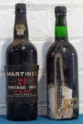 2 Bottles Martinez Vintage Port
