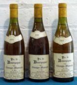 3 Bottles Chassagne-Montrachet Premier Cru 'Les Caillerets'