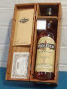 1 bottle Midleton Very Rare Irish Whiskey 1998