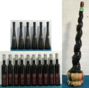 17 Half Litre, Half and 3 Litre Bottles Mixed Lot Fine Estate German and Italian Wines