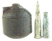 Inert WW1 Vivien & Bessiers grenade