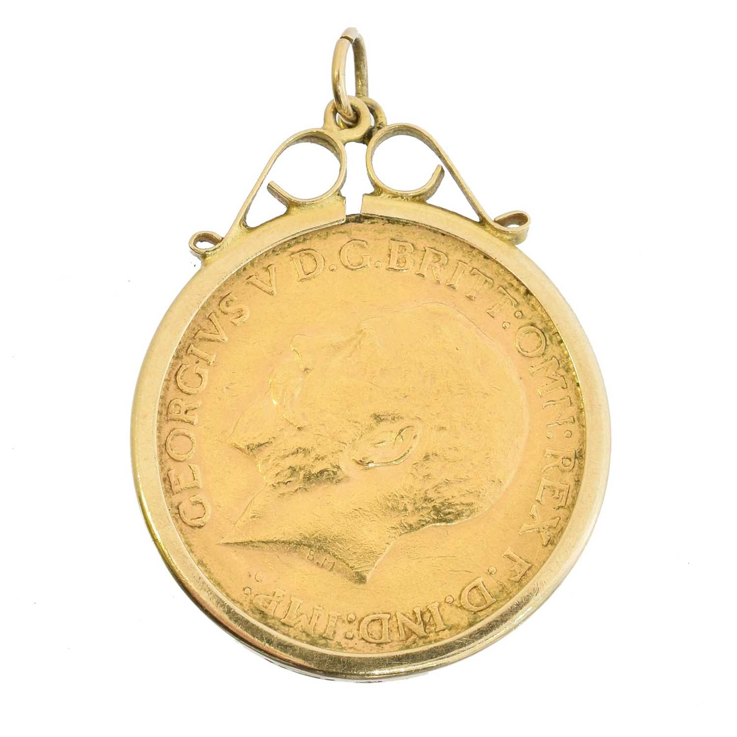 A sovereign pendant, - Image 2 of 2
