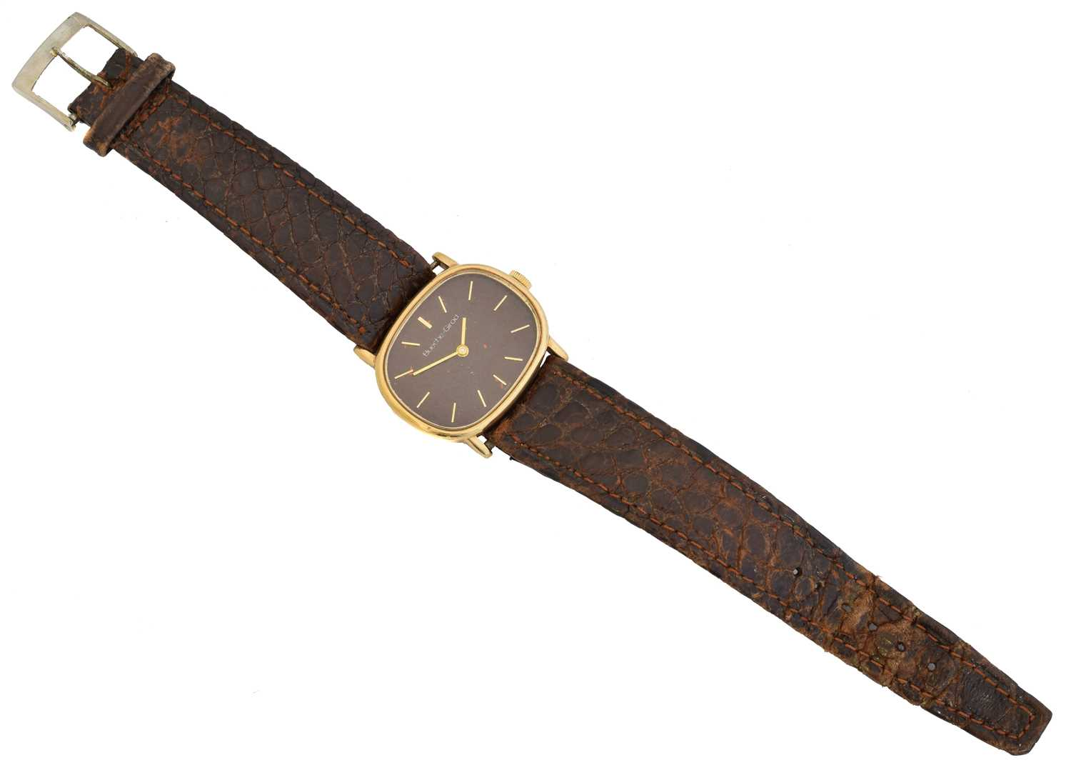 A 1970s 9ct gold Bueche Girod watch, - Image 2 of 2