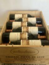 12 Bottles Chateau Paveil de Luze Cru Bourgeois Margaux 1999