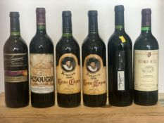 6 Bottles Mixed Lot Fine Spanish Red Wines to include Pesquera
