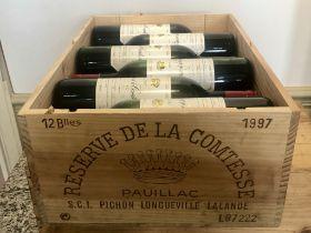 12 bottles Reserve De La Comtesse Pauillac 1997