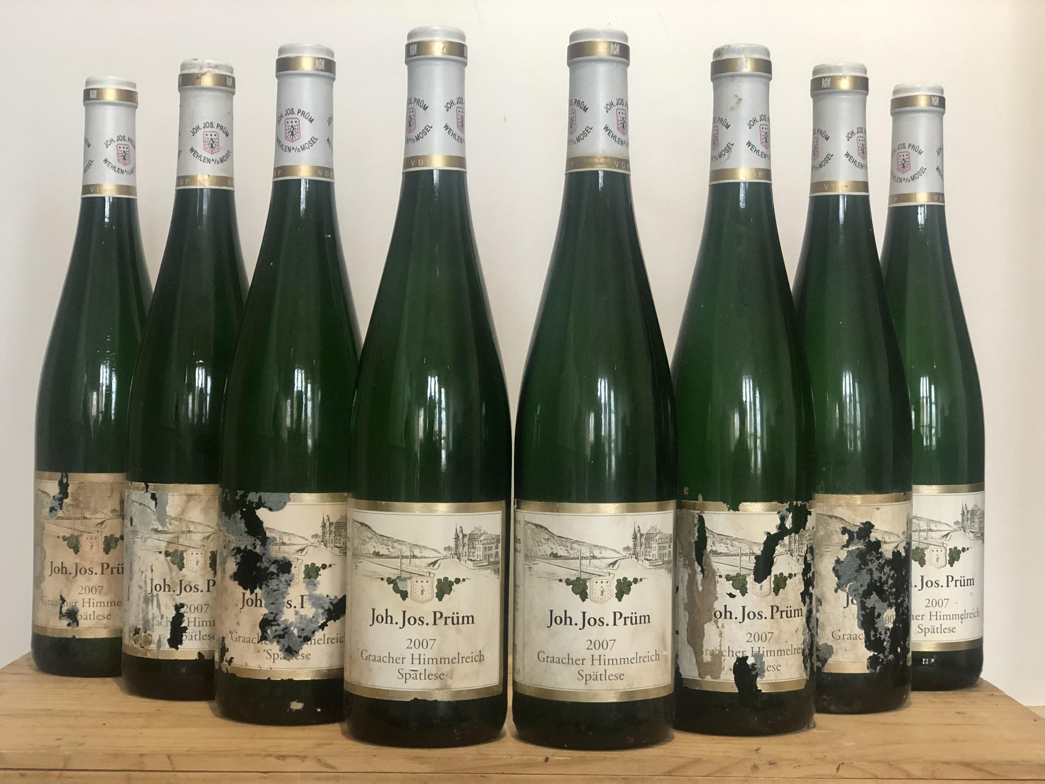 8 Bottles Graacher Himmelreich Riesling Spatlese