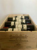 12 Bottles Chateau Magnol Cru Bourgeois Haut-Medoc 1998