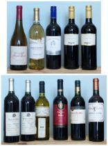11 Bottles Mixed Lot Fine Wines to include California, Chile and Rioja