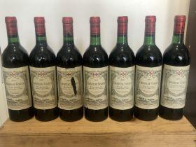 7 Bottles in OWC Chateau Gazin Grand Vin de Pomerol 1987