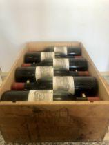 12 Bottles Chateau Lafite Rothschild Premier Grand Cru Classe Pauillac 1965