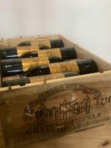 12 bottles Chateau d'Issan Grand Cru Classse Margaux 1989