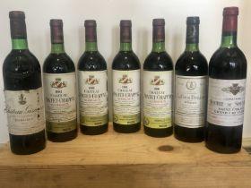 7 Bottles Mixed Lot Fine and Mature Claret, including Grand Cru Classse