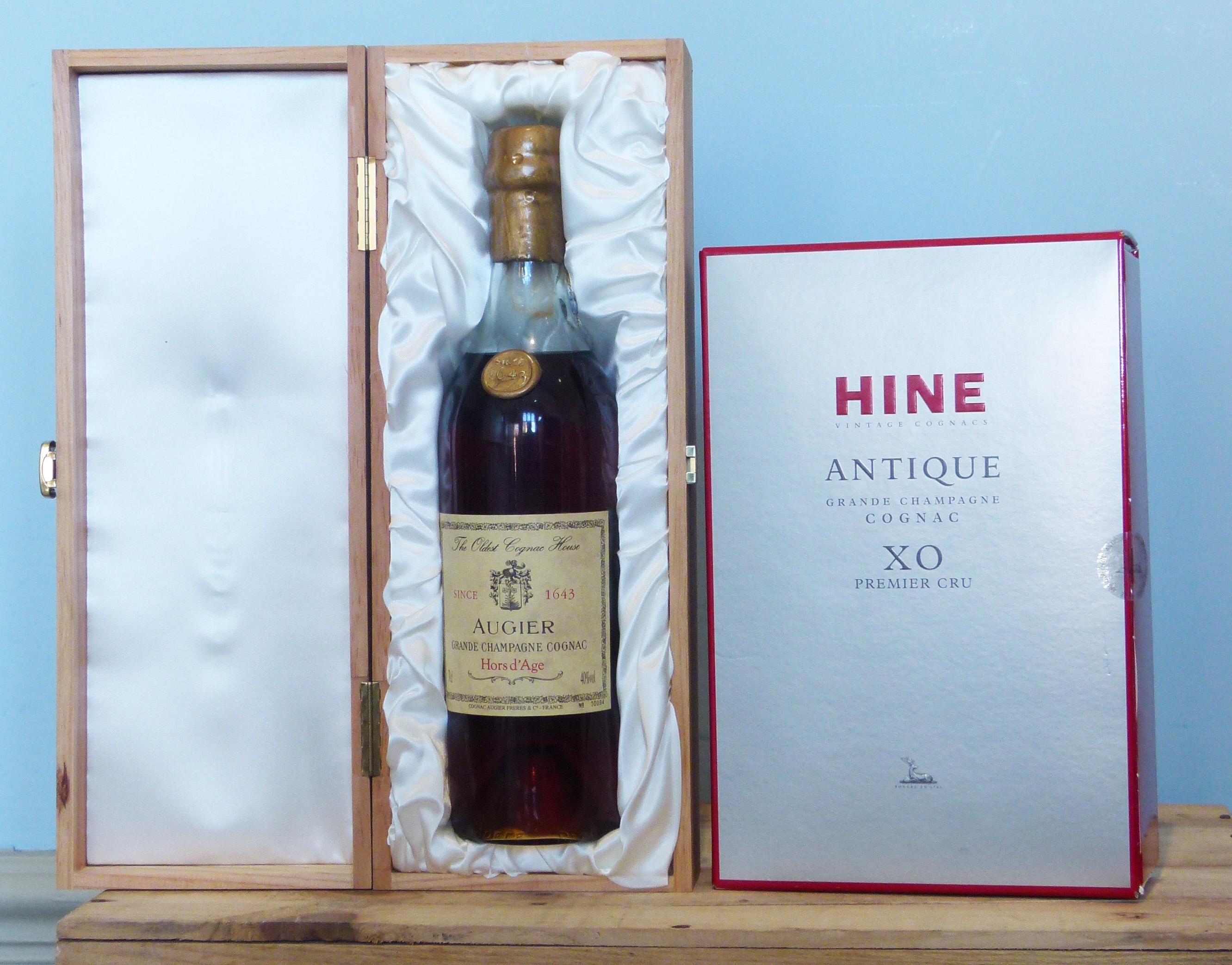 2 Bottles Very Fine Cognac (boxed)
