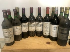 12 Bottles Mixed Lot Drinking Claret and Corbieres