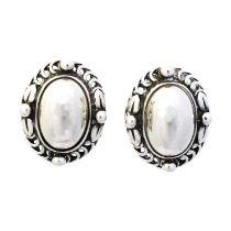 A pair of Georg Jensen 'Heritage' earrings,