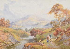 "A.D. Bell R.B.A. (British 1884-1966) ""Ullswater"", watercolour."