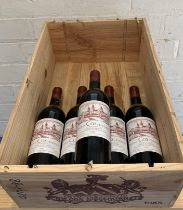 5 Bottles (in OWC) Chateau Cos d'Estournel Grand Cru Classe St Estephe 1985 (all i/n)