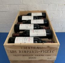 12 Bottles (in OWC) Chateau Les Remparts
