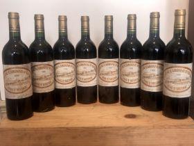 8 bottles (In OWC) Chateau Caronne Ste Gemme Haut Medoc 1998