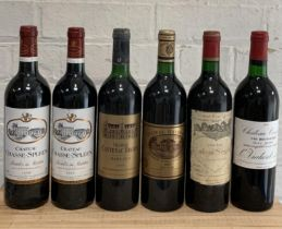 6 Bottles Fine Mature 'Left Bank' Clarets to include Classified Growths