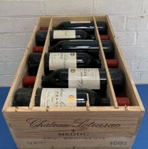 12 Bottles (in OWC) Chateau Potensac Cru Bourgeois Medoc 1988