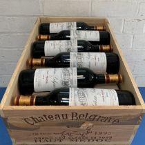 12 Bottles (in OWC) Chateau Belgrave Grand Cru Classe Haut-Medoc 1995