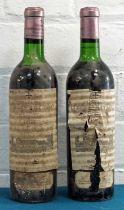 2 Bottles Chateau La Mission Haut Brion Grand Cru Classe Graves