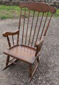 A rocking chair