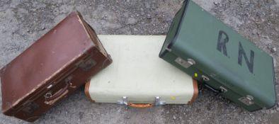 Three suitcases