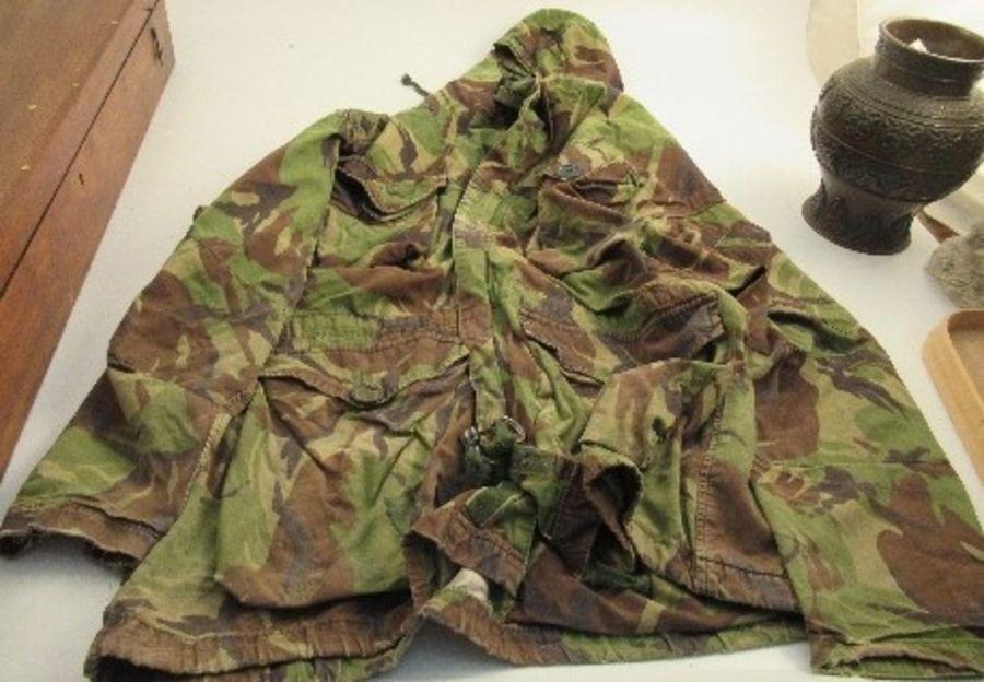 A vintage SAS captain's camouflage smock