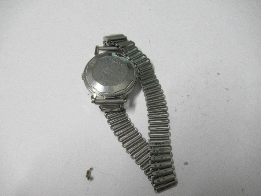 Jaeger Le Coultre, a gentleman's bumper automatic wrist watch, with up and down power reserve - Image 3 of 4