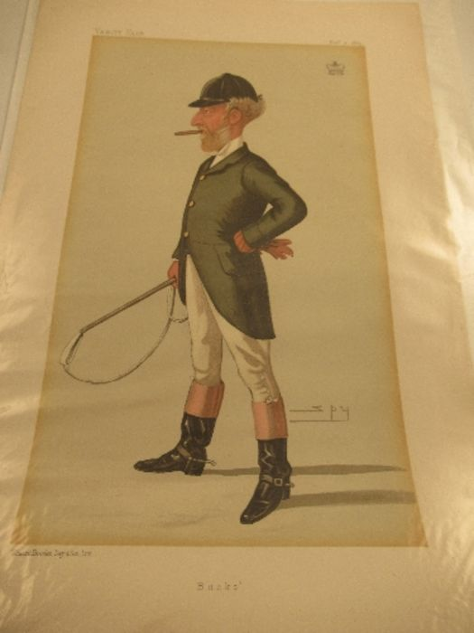 A collection of Vanity Fair prints, approximately 10 - Image 10 of 11