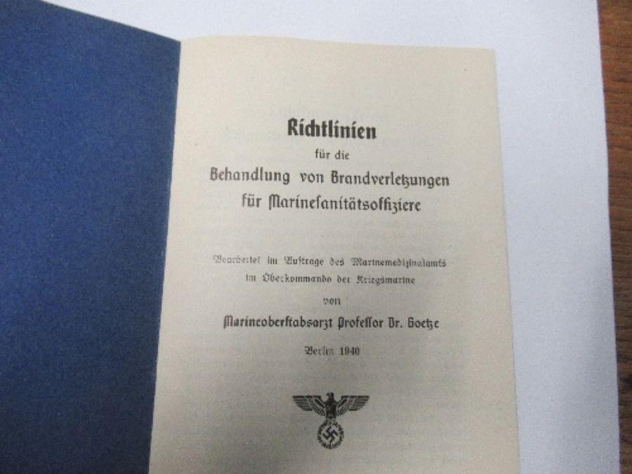 World War II, Kreigsmarine Soldbuch, belonging to Lance Corporal Machinist (Weapons Engineer) Arthur - Image 7 of 8
