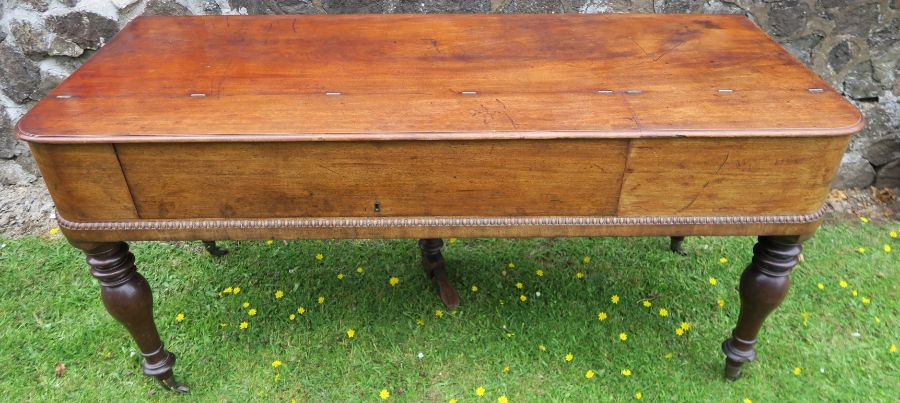 A 19th century mahogany cased square piano by William Stoddart - Image 6 of 6