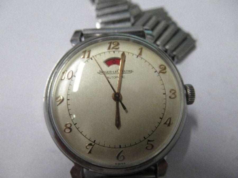 Jaeger Le Coultre, a gentleman's bumper automatic wrist watch, with up and down power reserve - Image 2 of 4