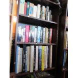 A large collection of books, to include paperbacks and art history books, etc.